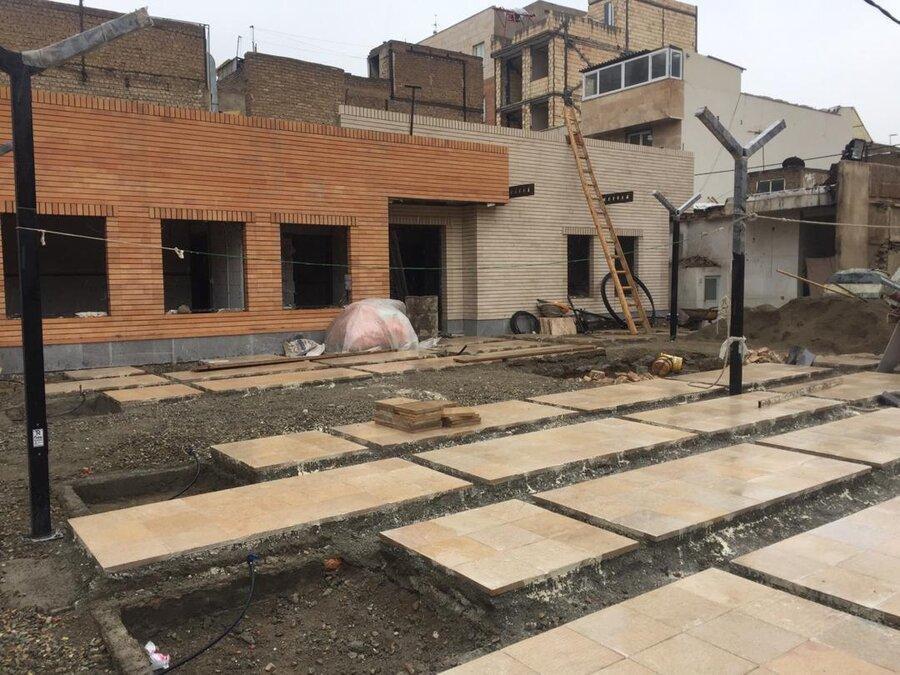 بهره برداری از پاتوق چند منظوره درخشان در محله اتابک؛به زودی