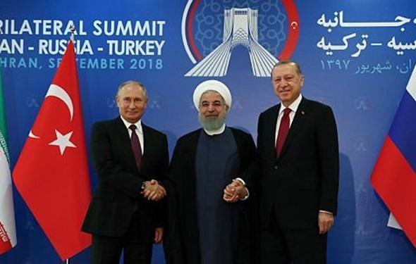 پیشنهاد روحانی به پوتین برای برگزاری مذاکرات آستانه در تهران