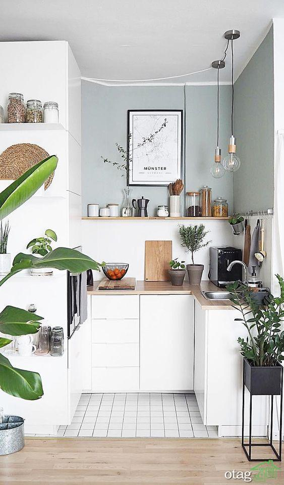 30 مدل طراحی دکوراسیون آشپزخانه بسیار کوچک و شیک