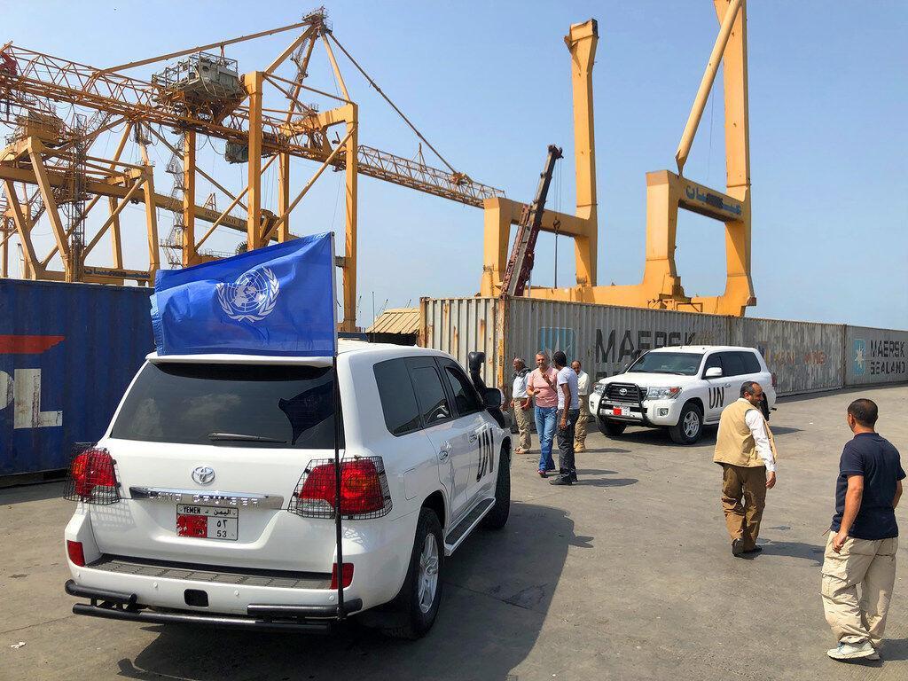خبرنگاران بسته شدن نمایندگی سازمان ملل در الحدیده یمن