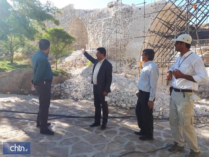بازسازی پل تاریخی پاتاوه 50 درصد پیشرفت فیزیکی دارد