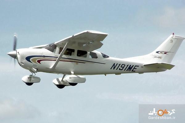 تصادف مرگبار دو هواپیمای آمریکایی و سقوط در دریاچه