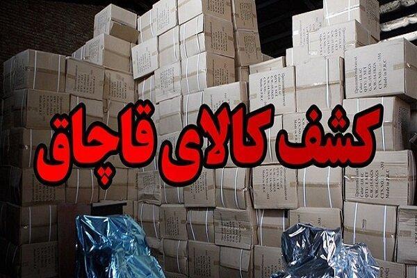 توقیف محموله میلیاردی ظرف بلور قاچاق در شهرضا