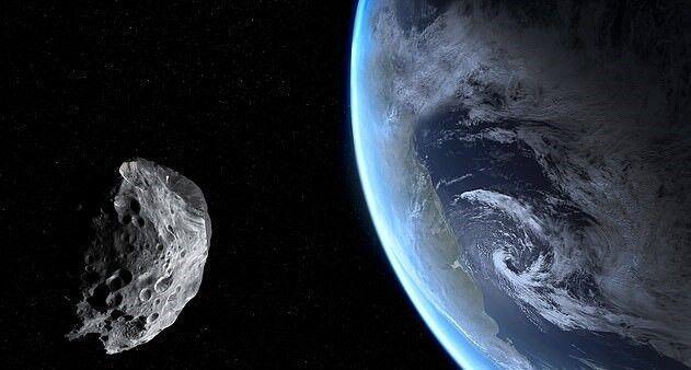 سیارکی با کمترین فاصله از کنار زمین عبور کرد
