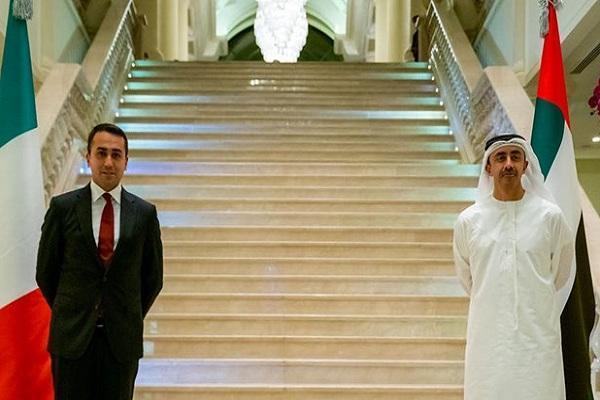 ایران، محور مذاکرات وزرای خارجه ایتالیا و امارات