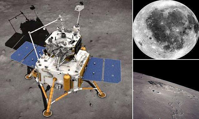 برای نخستین بار چینی ها سنگ های ماه را به زمین خواهند آورد