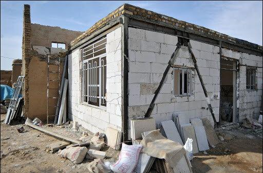 اختصاص نیمی از اعتبارات بازسازی مسکن مناطق حادثه دیده