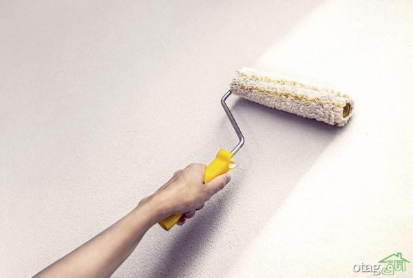 راهنمای کامل برای رنگ کردن دیوار گچی