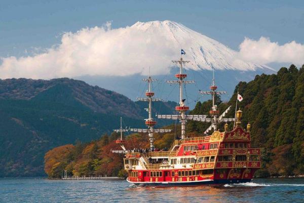 10 جاذبه برتر گردشگری هاکونه ژاپن