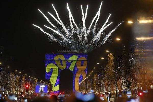 جشن سال نوی میلادی در سراسر دنیا