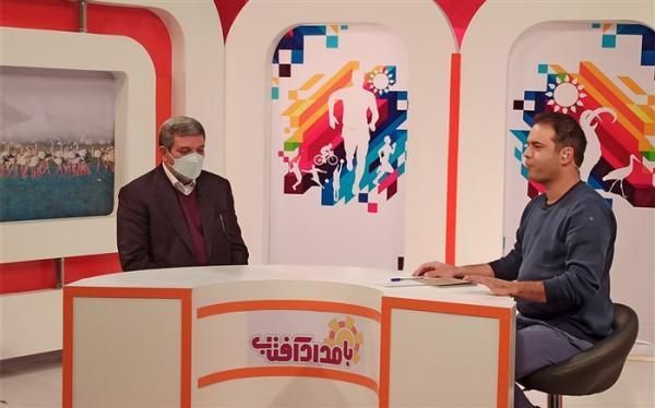 تشریح برنامه های آموزش و پرورش استثنایی در برنامه تلویزیونی بامداد آفتاب استان مرکزی