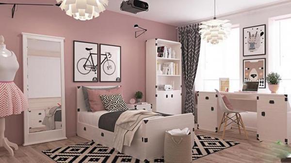انتخاب رنگ مناسب برای اتاق خواب دخترانه