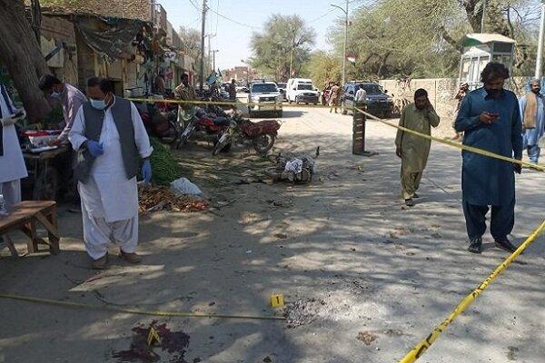 انفجار تروریستی در ایالت بلوچستان پاکستان، 18 نفر زخمی شدند