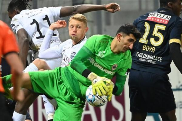 علیرضا بیرانوند برنده عنوان بهترین سیو هفته در لیگ بلژیک