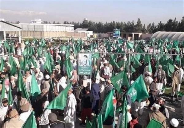 افغانستان، تظاهرات مسلحانه حامیان حکمتیار در کابل