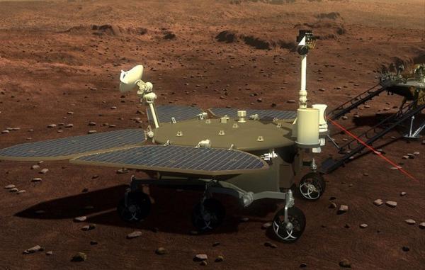 خدای آتش چین برای فرود بر سطح مریخ آماده می گردد