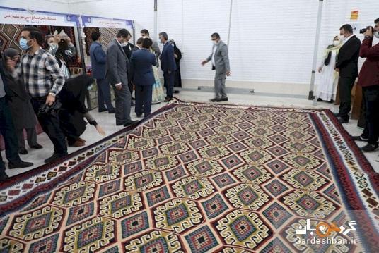 رونمایی از عظیم ترین گلیم ایران به متراژ 24 مترمربع در اردبیل