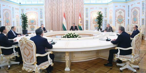 ملاقات رحمان با وزرای خارجه سازمان پیمان امنیت جمعی