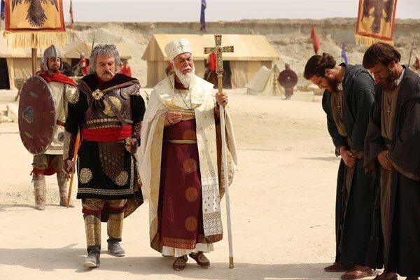 گریم کدام چهره ها در سریال سلمان فارسی رونمایی شده است؟