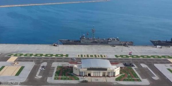 مصر یک پایگاه نظامی تازه در ساحل مدیترانه افتتاح کرد