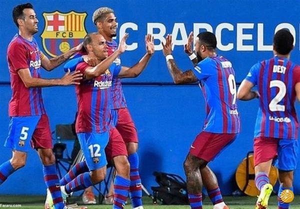 خلاصه بازی بارسلونا 3 ، 0 یوونتوس؛ پیروزی بدون مسی