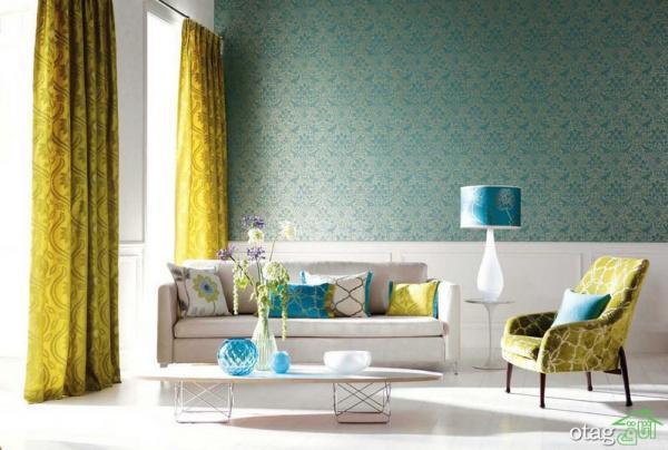 نحوه استفاده از رنگ سبز دودی در دکوراسیون منزل